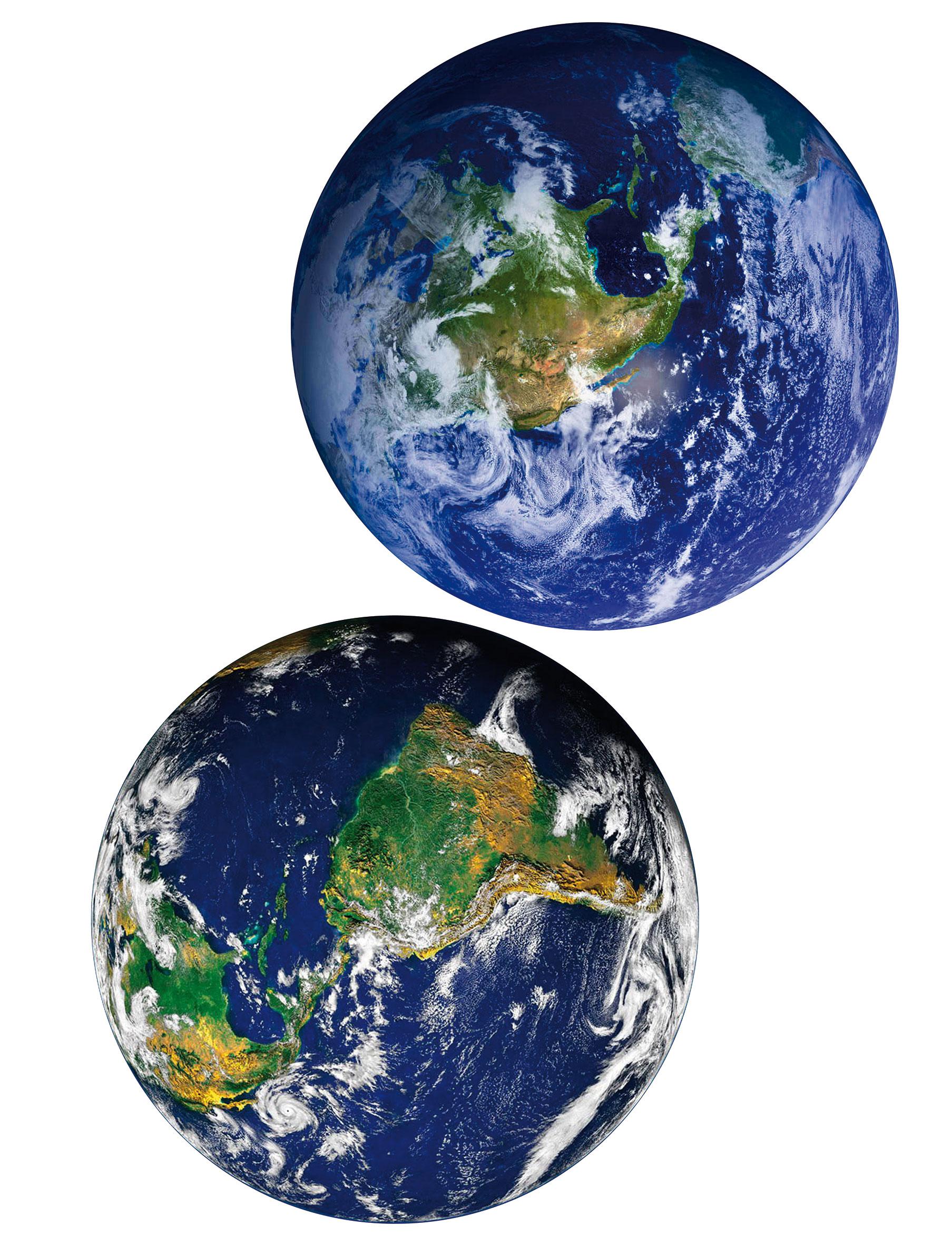 Samolepicí dekorace Země F1042 (Dekorativní nálepka 65 x 85 cm)