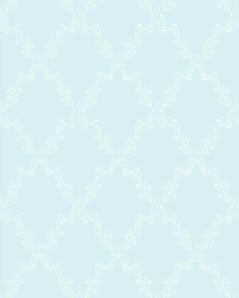 Tapeta na zeď Marburg Paradise 54102 (Vliesová tapeta - modrá, bílá)