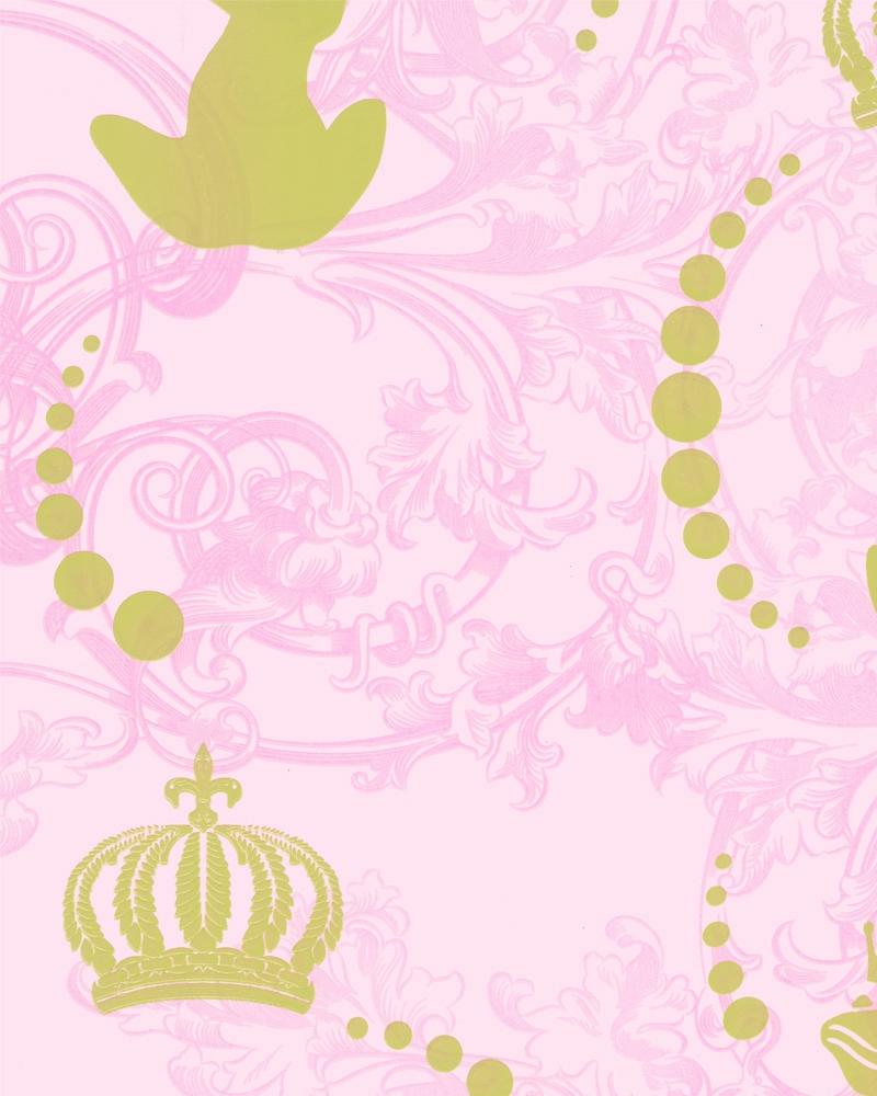 Tapety na zeď Marburg Paradise 54116 (Vliesová tapeta - růžová, zlatá)