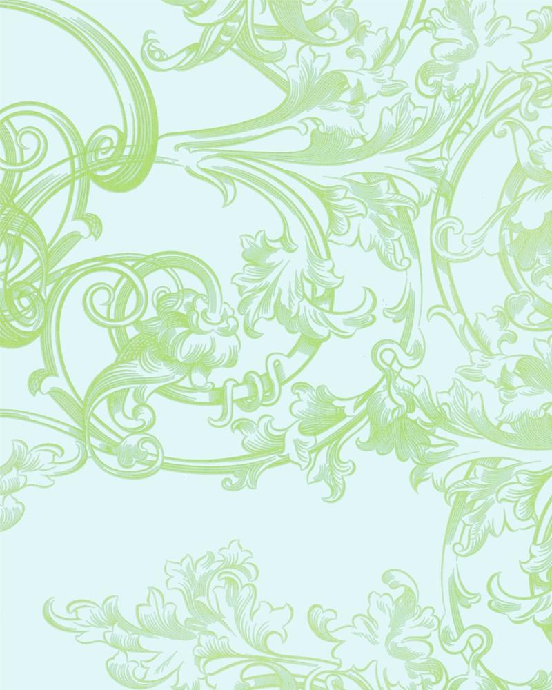 Tapety na zeď Marburg Paradise 54118 (Vliesová tapeta - zelená, zlatá)