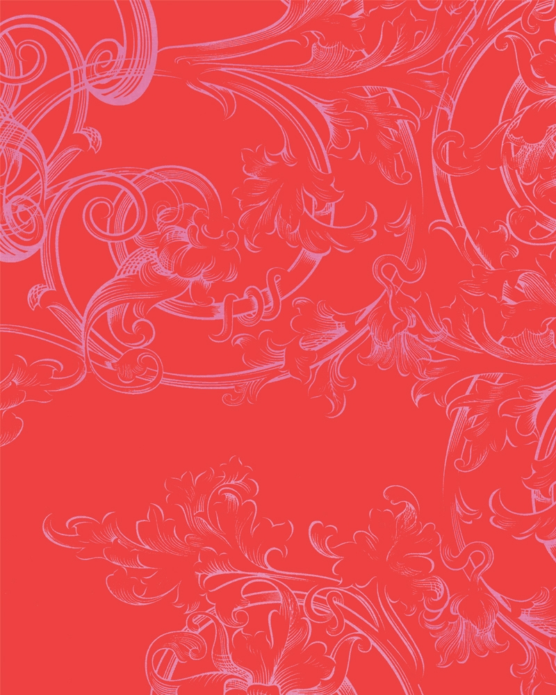 Tapety na zeď Marburg Paradise 54119 (Vliesová tapeta - červená, růžová)