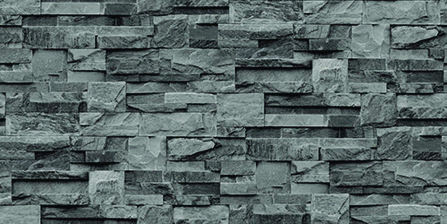 Tapety na zeď Vavex J274-09 | 0,53 x 10,05 m (Vinylová tapeta šedo-černá)
