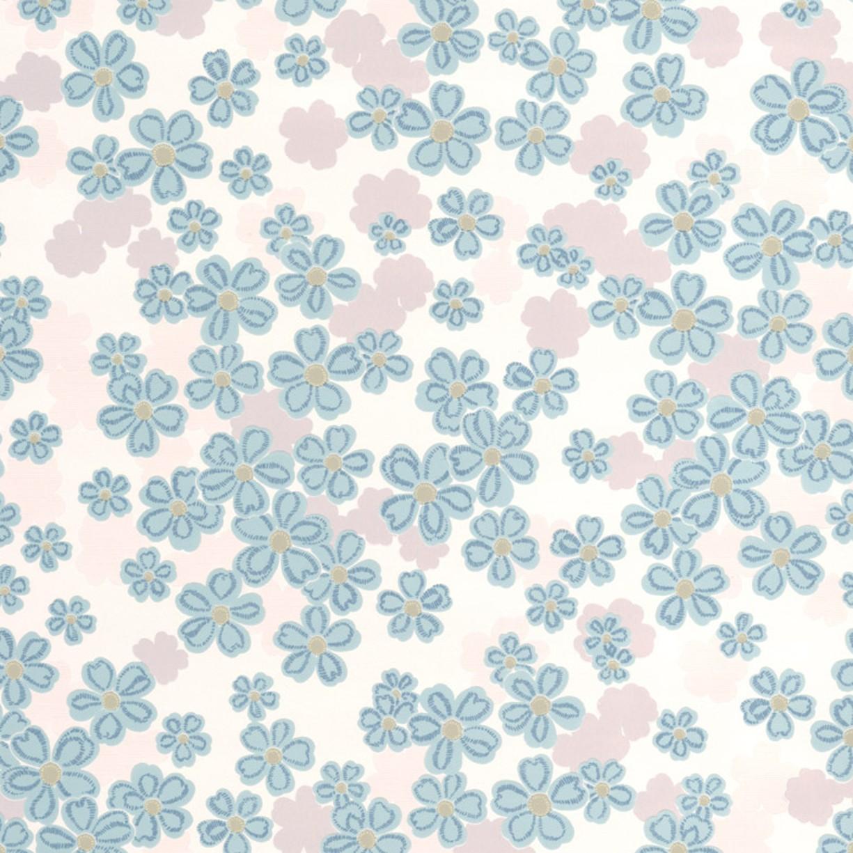 Tapety na zeď Vavex 20-615 | 0,53 x 10,05 m (Vinylová tapeta - šedá, modrá, zelená)