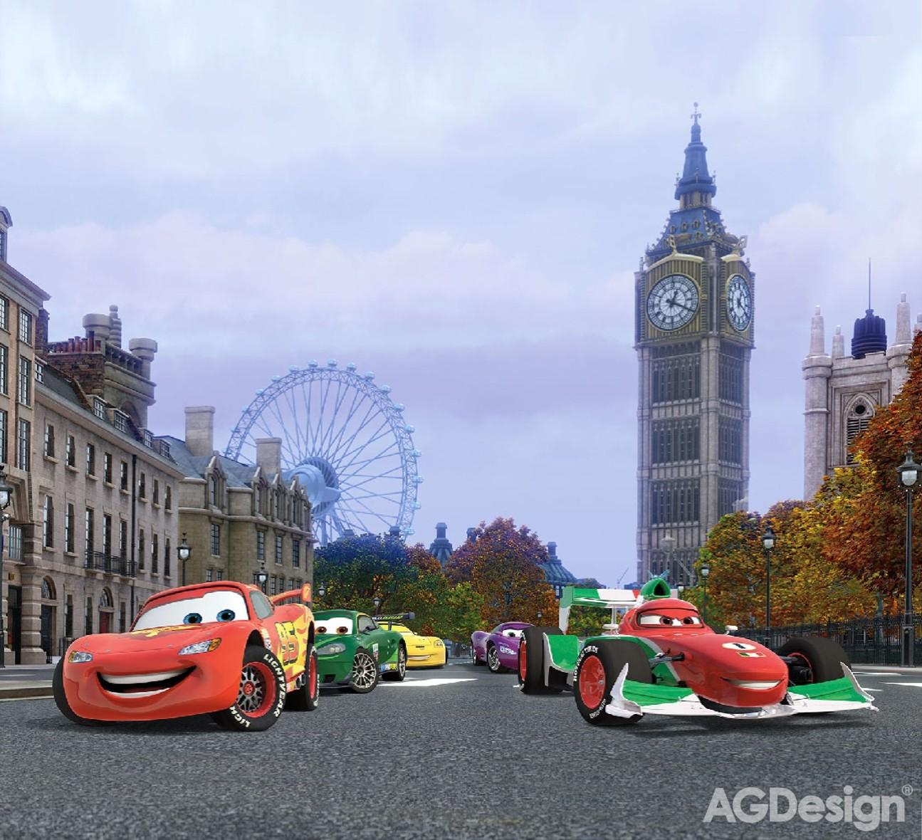 Fotozávěsy AG Design Cars FCP XXL 6000 (Závěs PES 280g | 280 x 245 cm)