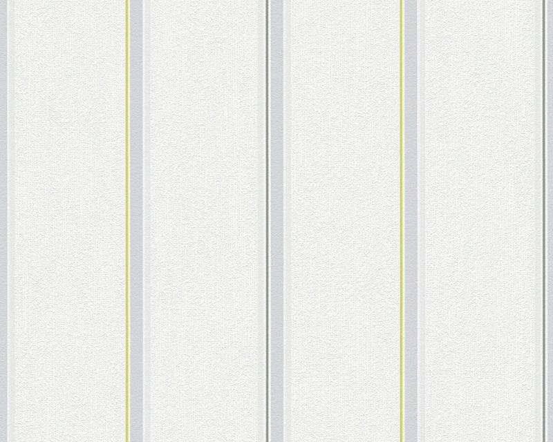 Moderní tapeta OK 7 30006-1 | 0,53 x 10,05 m (Vliesová tapeta - šedá, zelená)