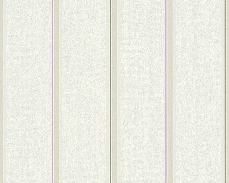 Moderní tapeta OK 7 30006-4 | 0,53 x 10,05 m (Vliesová tapeta - béžová, fialová)