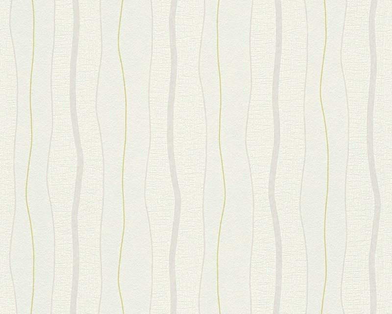 Moderní tapeta OK 7 96226-2 | 0,53 x 10,05 m (Vliesová tapeta - šedá, zelená)