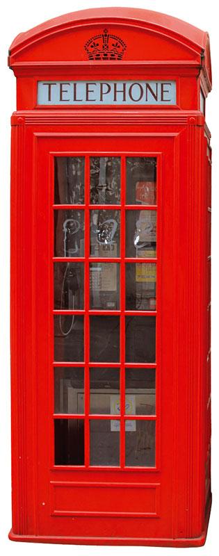 Samolepicí dekorace Phone Box ST2 009