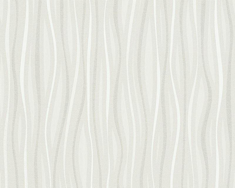 Vinylová tapeta Dimex 95879-1 (Krémová, bílá | 0,53 x 10,05 m)