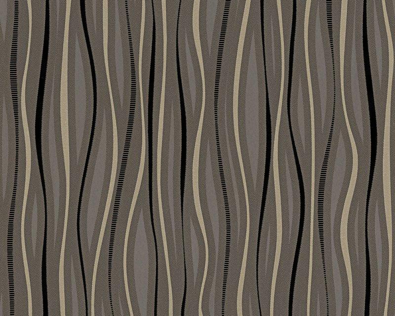 Vinylová tapeta Dimex 95879-3 (Černá, hnědá | 0,53 x 10,05 m)