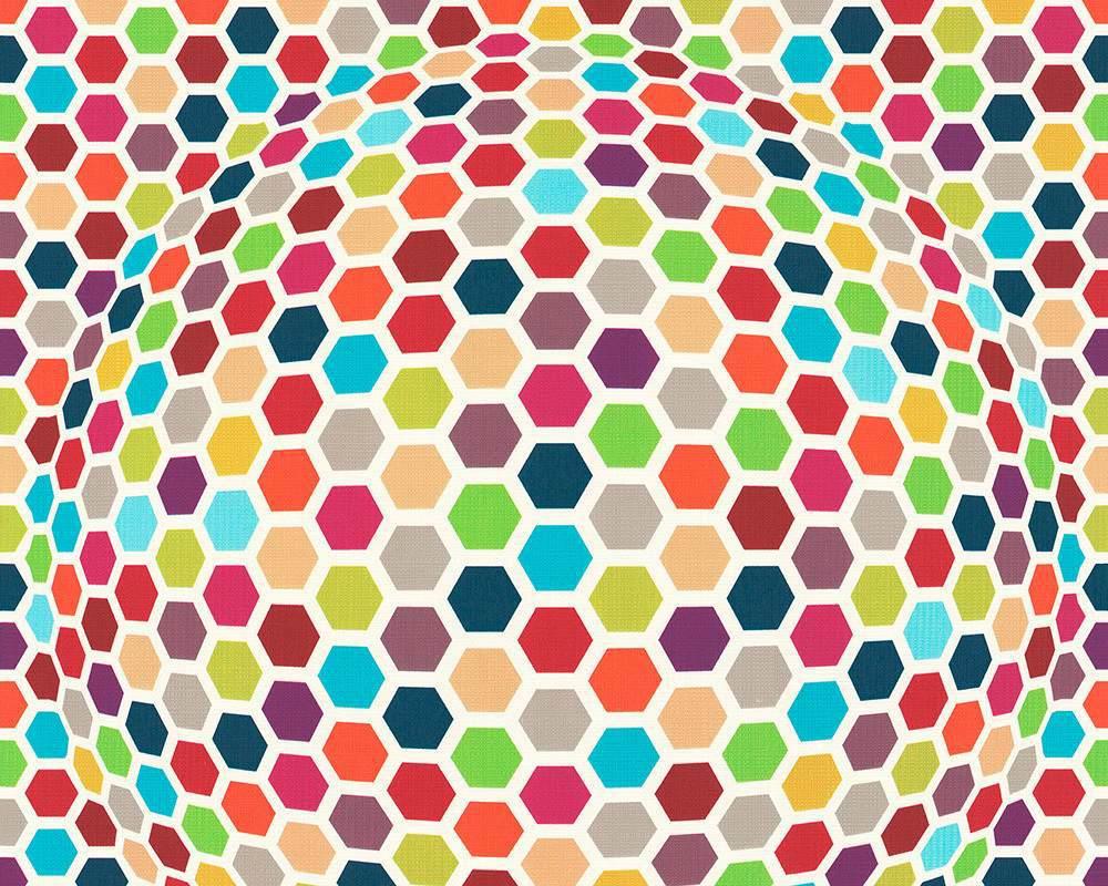 Tapeta A.S. Création Contzen 7903-16 | 0,53 x 10,05 m (3D tapeta na zeď barevná)