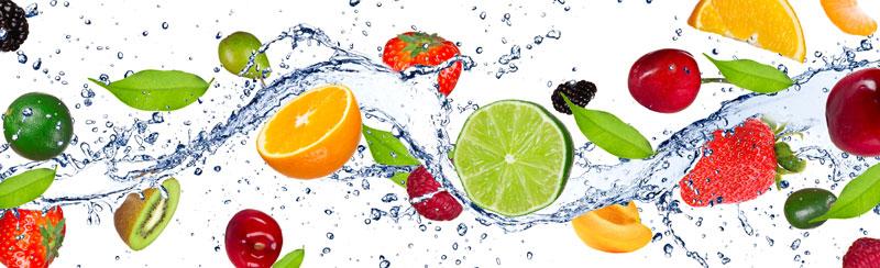 Běhoun na stůl Fruits TS-010 - 40 x 140 cm (Moderní ubrus   100% polyester)