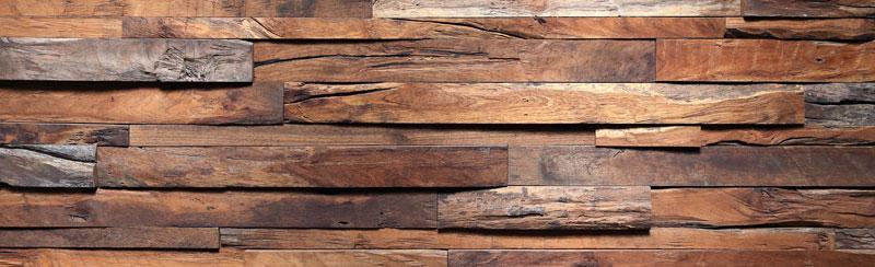 Běhoun na stůl Wooden TS-014 - 40 x 140 cm (Moderní ubrus | 100% polyester)