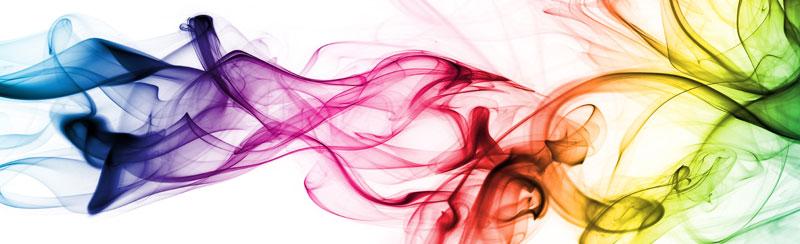 Běhoun na stůl Smoke TS-017 - 40 x 140 cm (Moderní ubrus | 100% polyester)