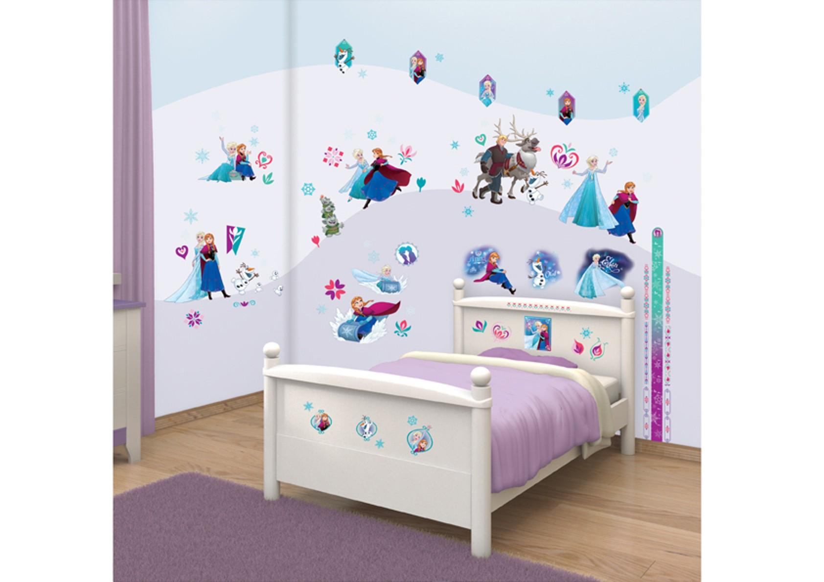 Samolepicí dekorace Walltastic Frozen 2 - 34 x 46 cm 43916 (Dětské samolepicí dekorace)