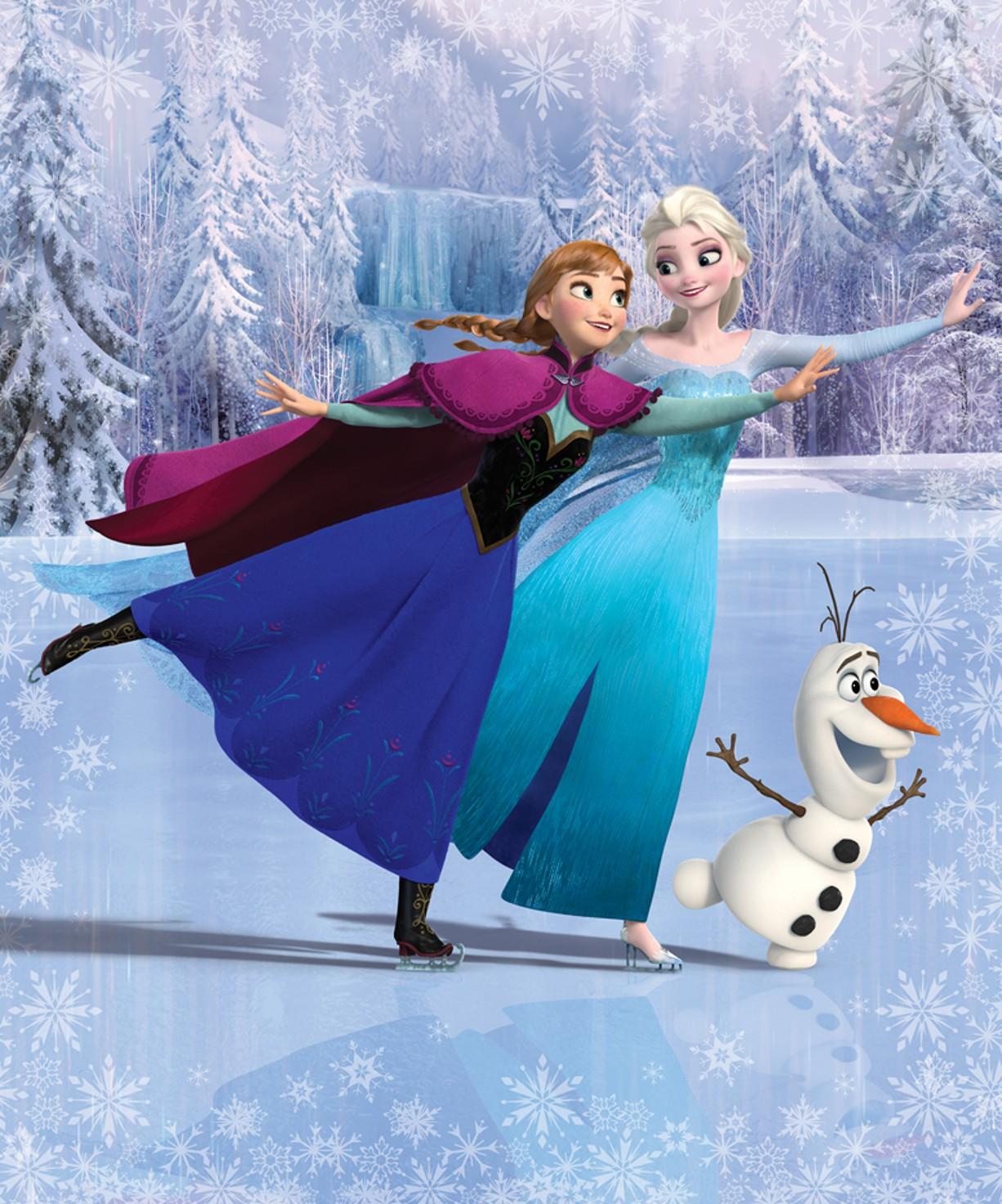 Fototapeta Walltastic Frozen 2 - 203 x 243 cm