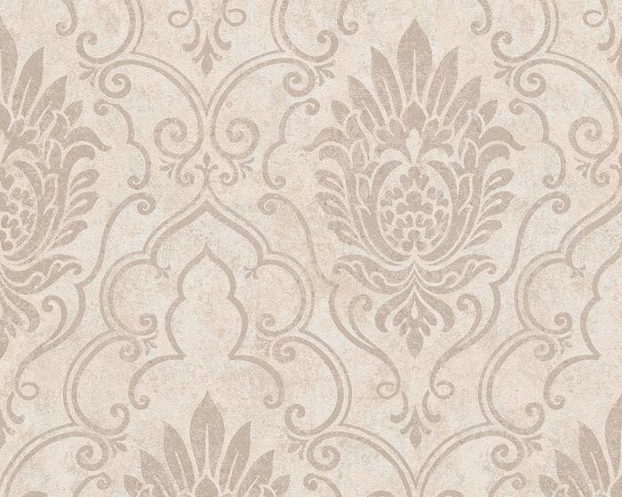 Vliesové tapety Bohemian 9453-27 (Hnědá, metalická)