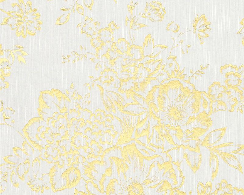 A.S. Création tapeta Metallic Silk 30657-1 | 0,53 x 10,05 m