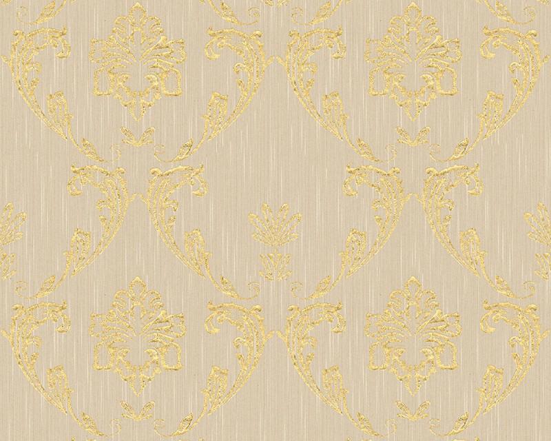 A.S. Création tapeta Metallic Silk 30658-2 | 0,53 x 10,05 m
