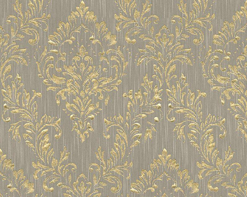 A.S. Création tapeta Metallic Silk 30659-3 | 0,53 x 10,05 m