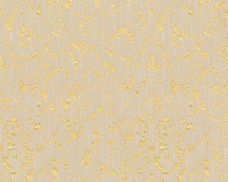A.S. Création tapeta Metallic Silk 30660-2 | 0,53 x 10,05 m