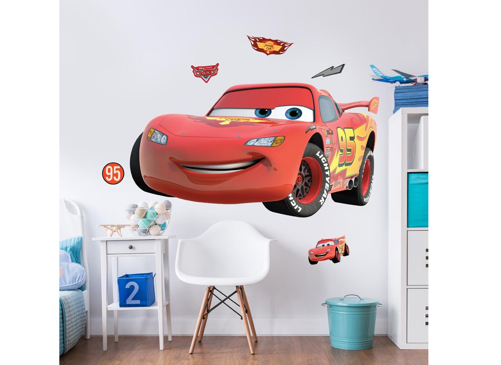 Samolepicí dekorace Walltastic Cars 44364 (Sada samolepek do dětského pokoje)