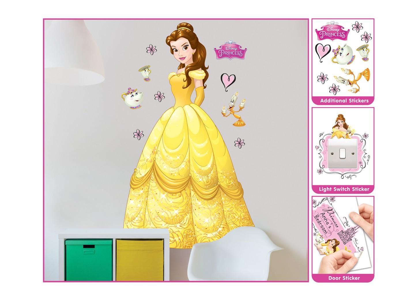 Samolepicí dekorace Walltastic Bella 44357 (Sada samolepek do dětského pokoje)