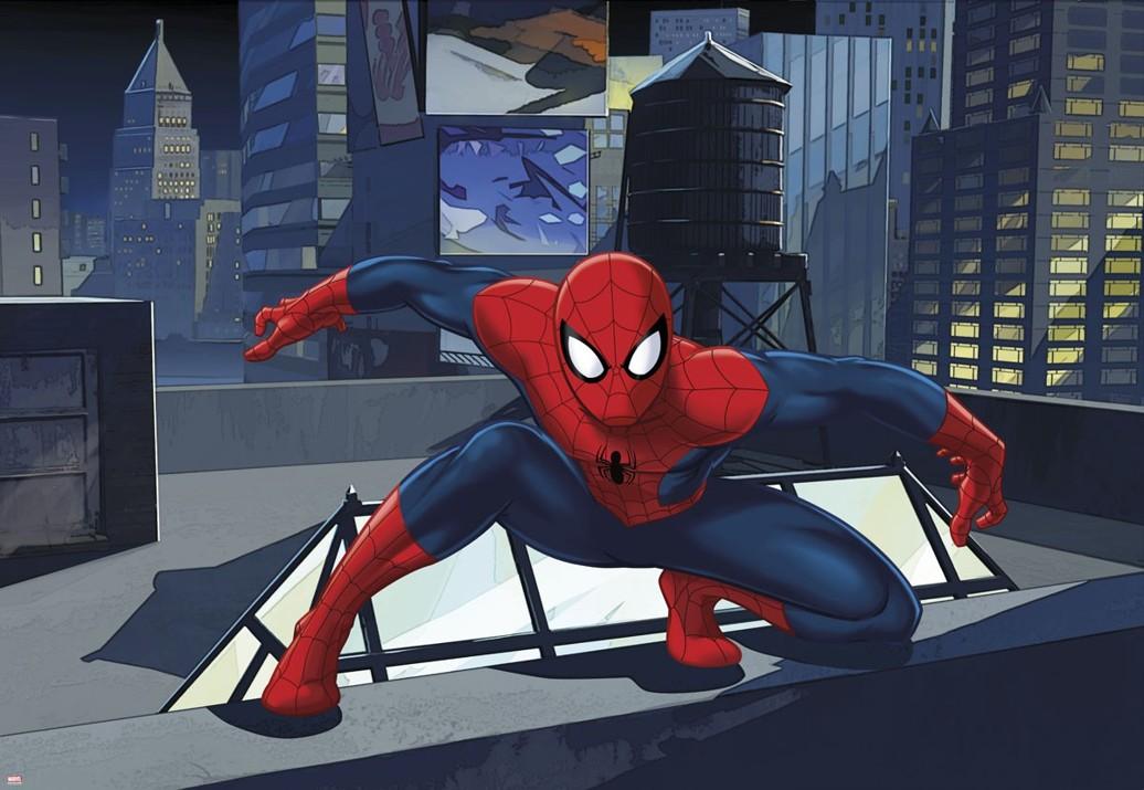 KOMAR fototapeta 1-445 Spiderman Ultimate | 184 x 127 cm