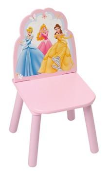Dětská židlička Princezny (Dřevěná židle pro děti)