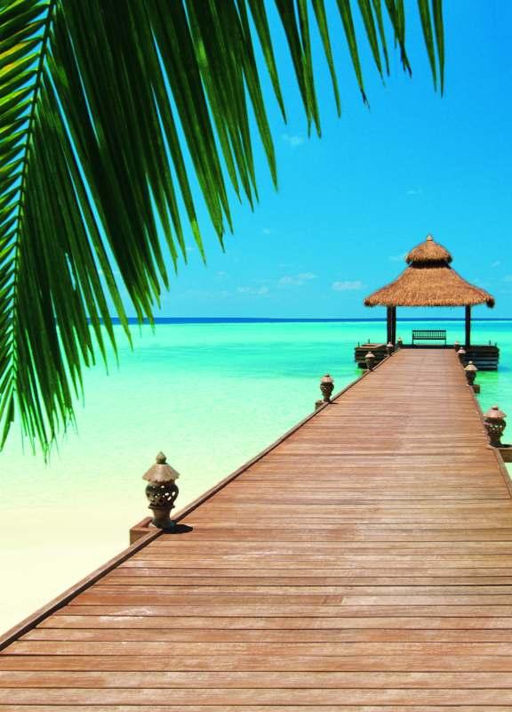 Fototapeta W+G Paradise Beach 376 | 183 x 254 cm (Papírová fototapeta 4-dílná)