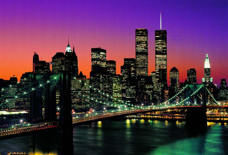 Fototapeta W+G New York City 366 x 254 cm 139 (8-dílná fototapeta | 366 x 254 cm)