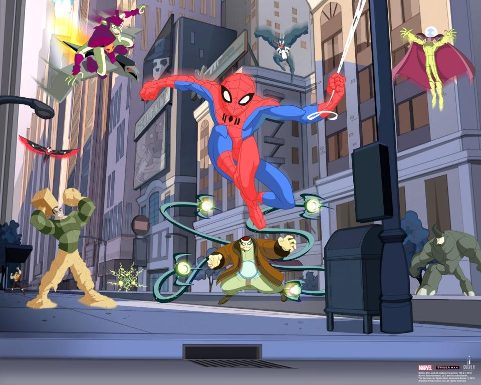 Fototapeta Spiderman (Dětská fototapeta Spiderman)