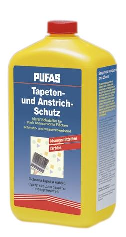 Ochrana tapet a nátěrů Pufas (0,25 l) (Ochranný nátěr na tapety)