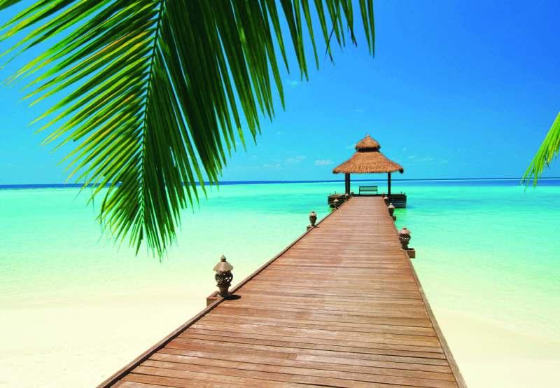 Fototapeta W+G Paradise Beach 366 x 254 cm 284 (8-dílná fototapeta | 366 x 254 cm)