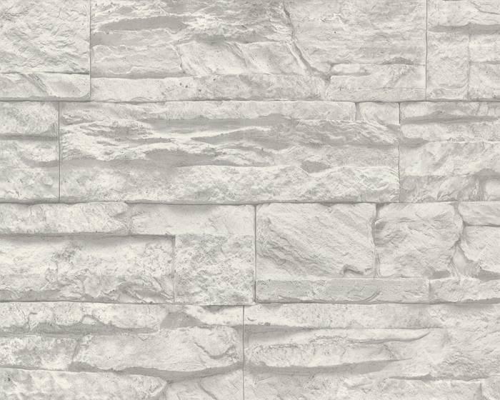 Tapeta na zeď Dimex 7071-16 | 0,53 x 10,05m (Vliesová tapeta - šedý kámen)
