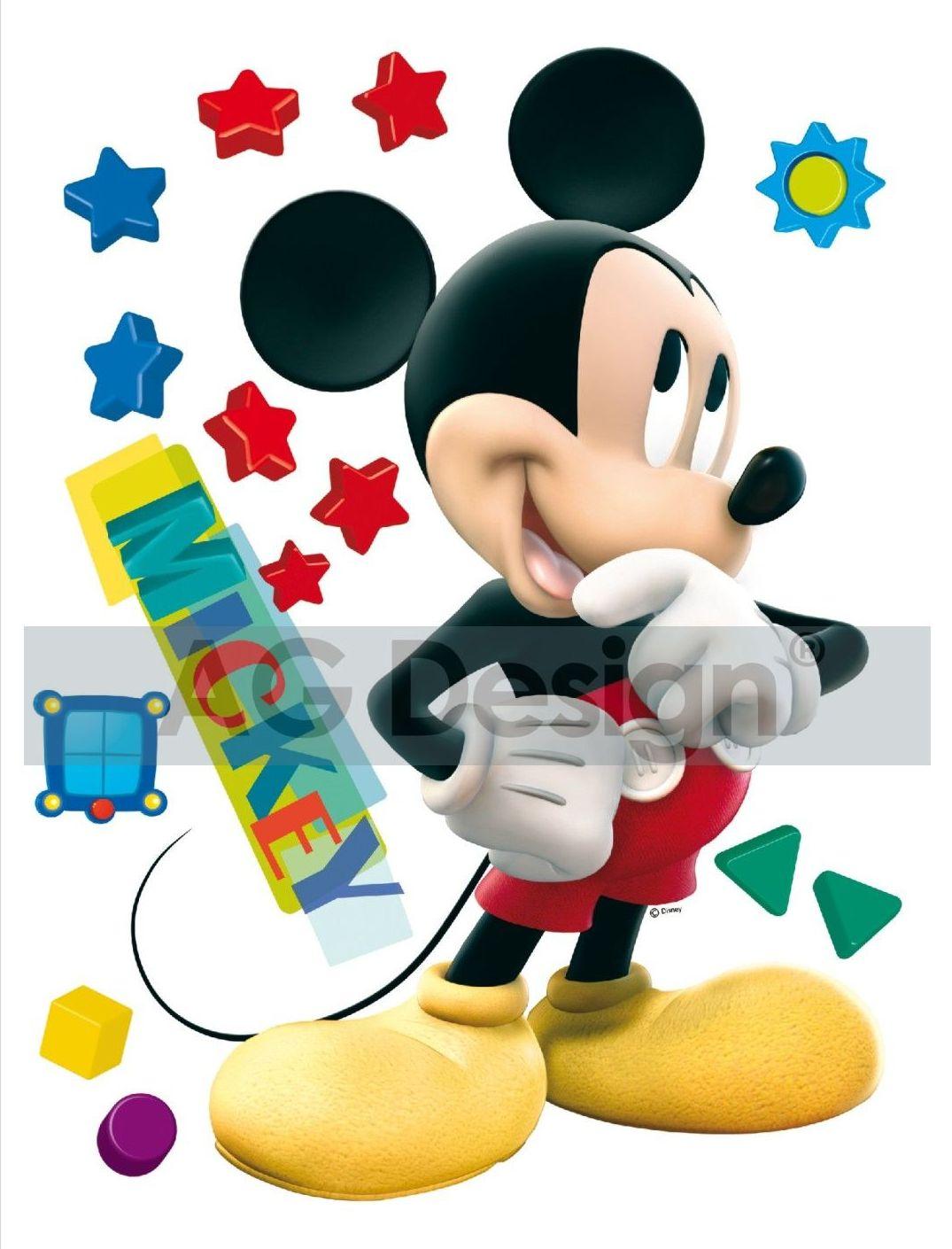 Maxi nálepka na zeď Mickey Mouse DK858