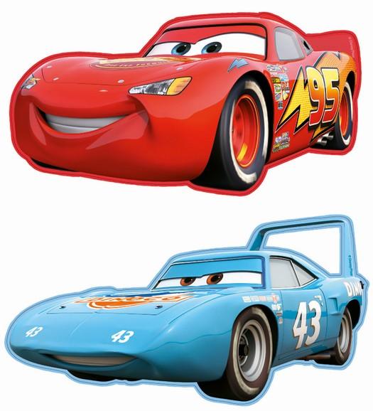 Pěnové figurky Cars 2ks (Disney)