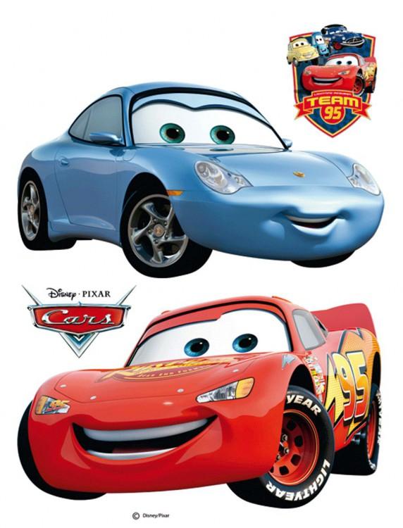 Samolepicí dekorace Cars a Sally DK850 (Disney)