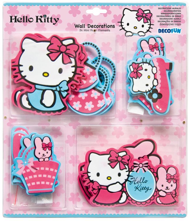 Mini pěnové figurky Hello Kitty