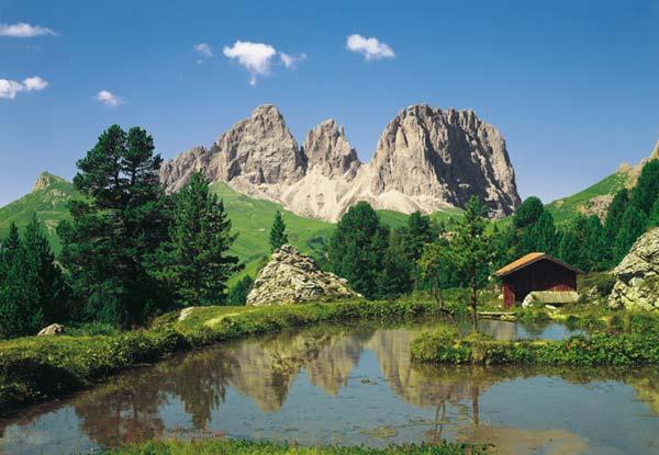 Fototapeta na zeď Dolomiten 8-9017 (8-dílná fototapeta na zeď)