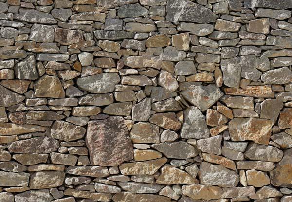 Fototapeta na zeď Stone Wall Komar (8-dílná papírová fototapeta)