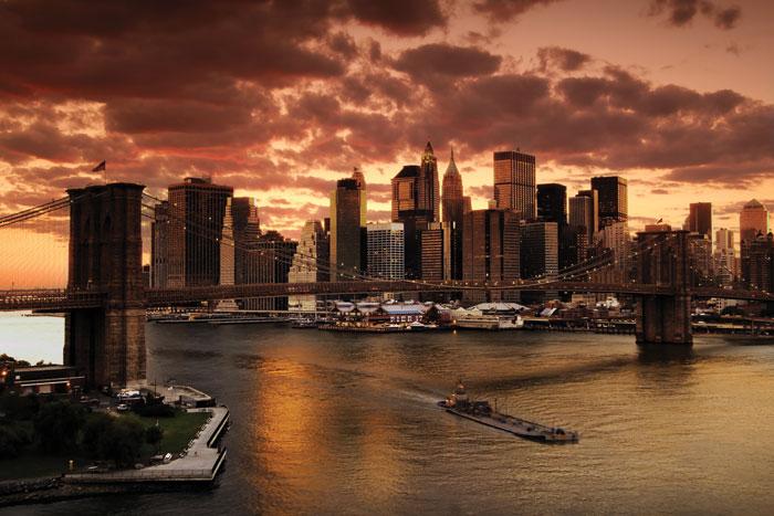 Fototapeta Dimex New York XL-101 330x220 cm (3-dílná vliesová fototapeta | lepidlo + pošta zdarma)