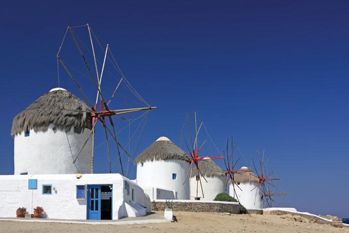 Vliesová fototapeta Dimex Windmills XL-175 330x220 cm (3-dílná vliesová fototapeta | lepidlo + pošta zdarma)