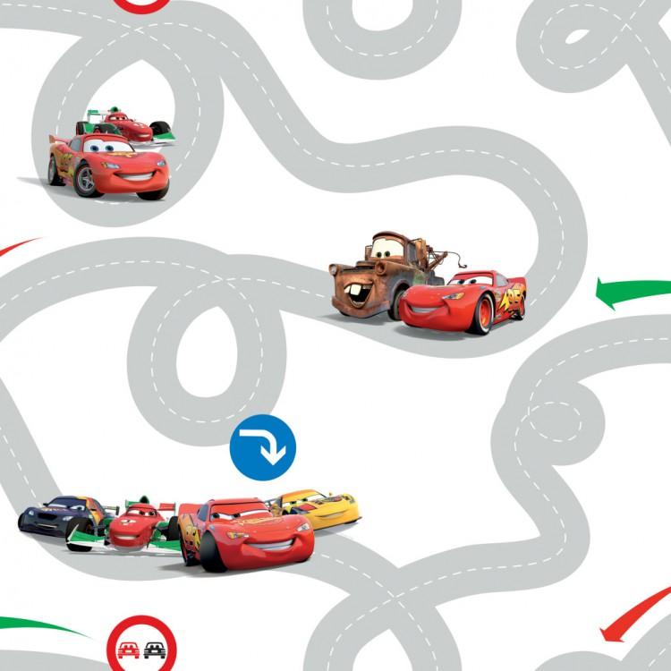 Dětská tapety Cars 72599 (Papírová tapeta na zeď)