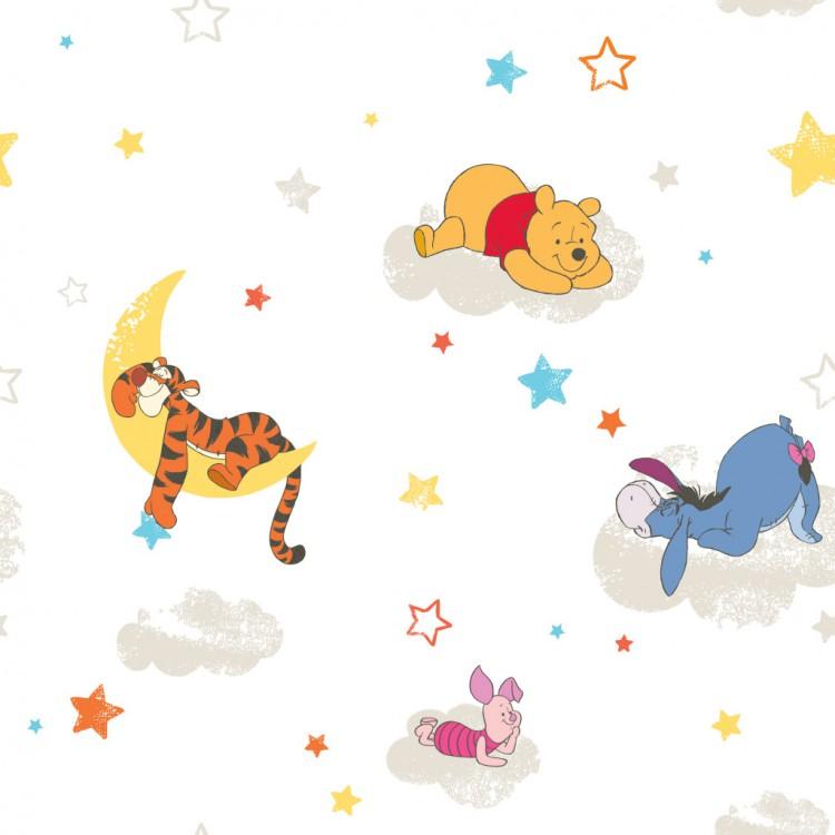Dětská tapeta Medvídek Pú 70799 (Papírová Disney tapeta na zeď)