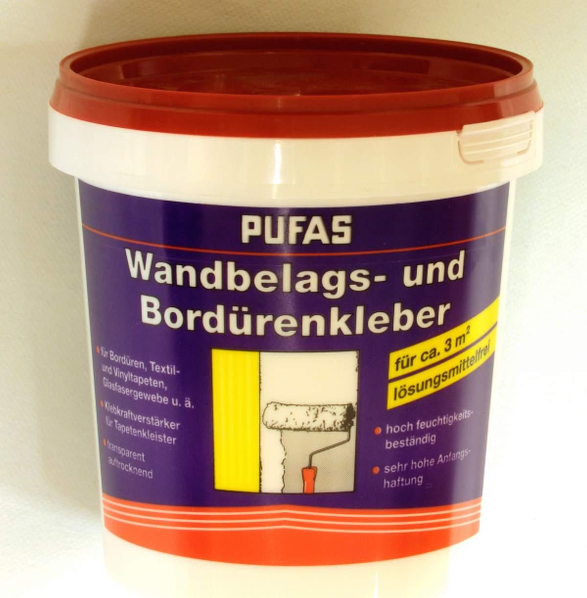 Lepidlo na bordury Pufas 750 g (Disperzní lepidlo na obložení stěn)