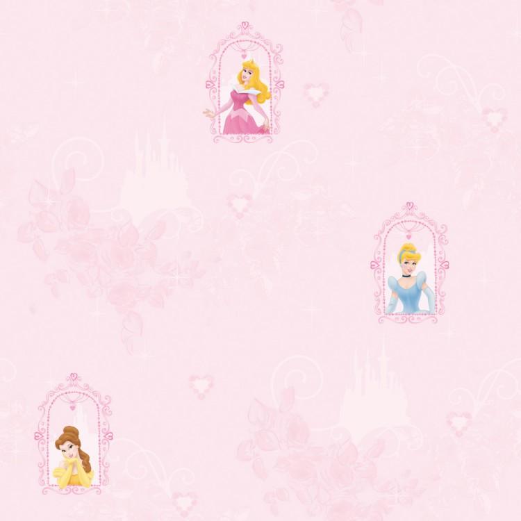 Dětská tapeta Princezny 71699 (Papírová tapeta na zeď)