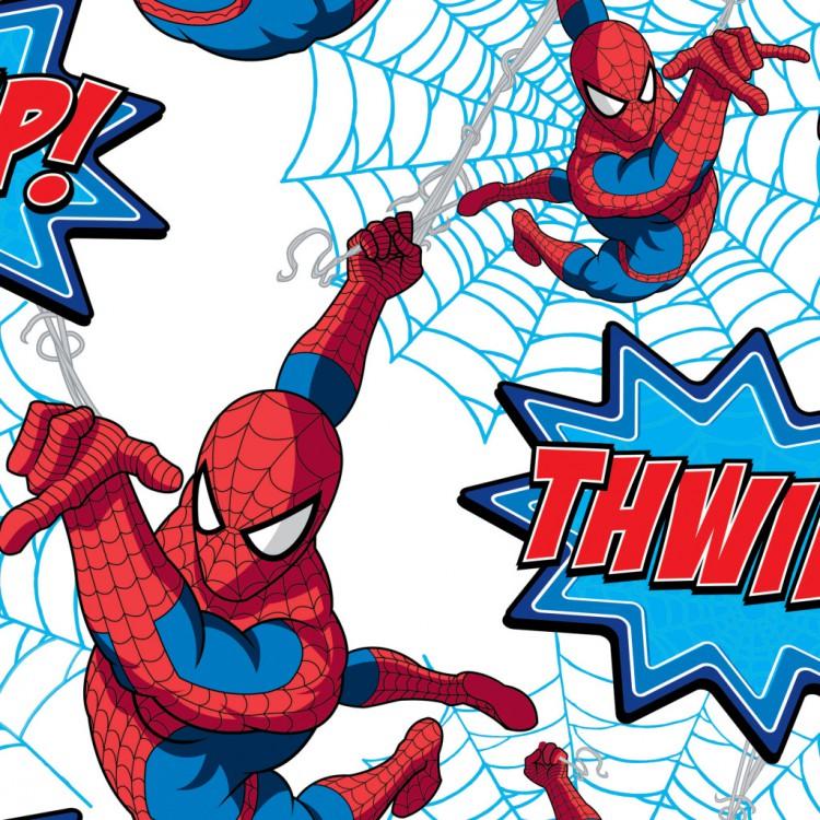 Papírová dětská tapeta Spiderman 73299 (Papírová tapeta)