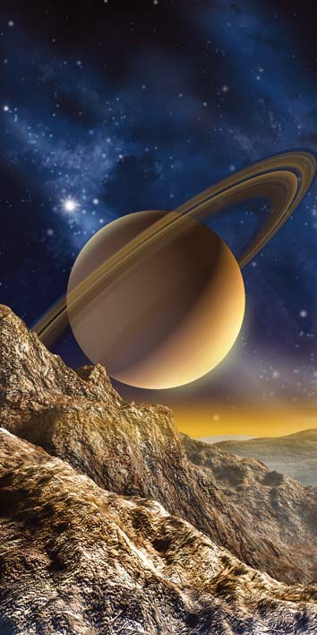 Samolepicí fototapeta Planeta D002 (Fototapeta na dveře 95 x 210 cm)