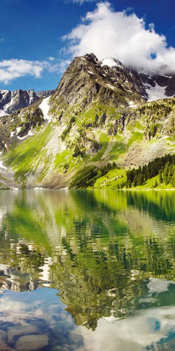 Samolepicí fototapeta Jezero D006 (Fototapeta na dveře 95 x 210 cm)
